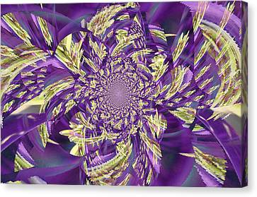 Royal Purple  Canvas Print by Rose  Hill