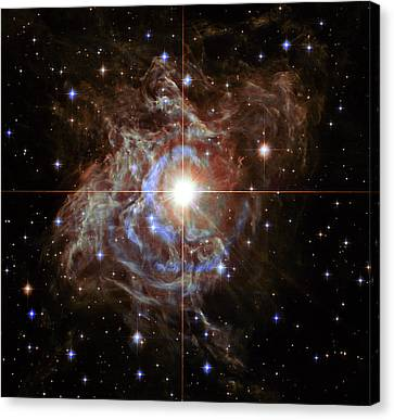 Rs Puppis Super Star Canvas Print by Mark Kiver