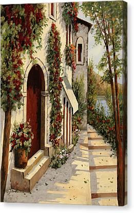 Rubino Canvas Print by Guido Borelli