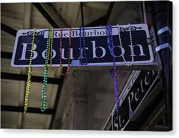 Rue Bourbon Canvas Print by Garry Gay