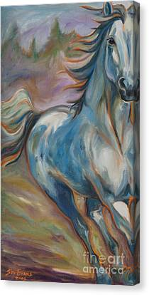 Running Free Canvas Print by Sky Evans
