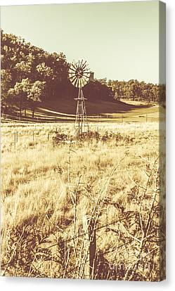 Rural Farm Ranch Canvas Print by Jorgo Photography - Wall Art Gallery