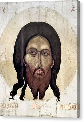 Russian Icon: The Savior Canvas Print by Granger