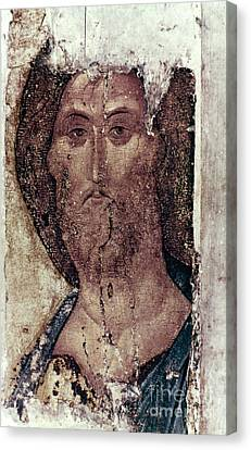 Russian Icons: The Saviour Canvas Print by Granger