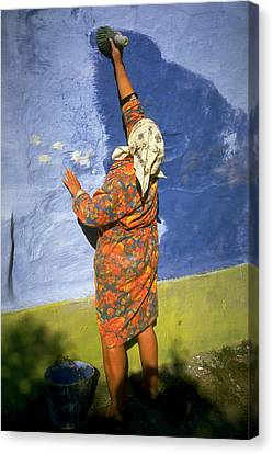 Russian Painter Canvas Print by Jeremy Wolff