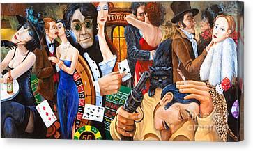 Russian Roulette Canvas Print by Igor Postash