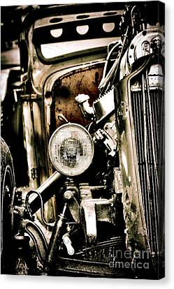 Rust And Power Canvas Print by Tim Gainey