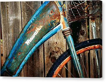 Rusted And Weathered Canvas Print by Toni Hopper