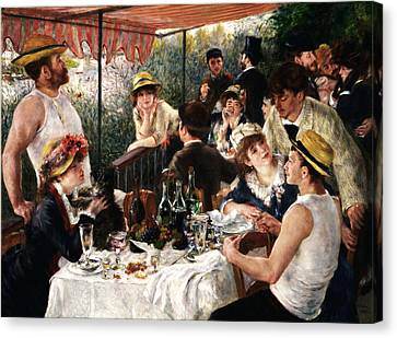 Rustic 19 Renoir Canvas Print by David Bridburg