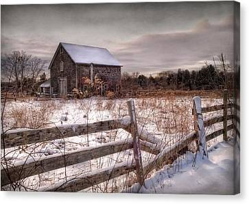 Rustic Chill Canvas Print by Robin-lee Vieira