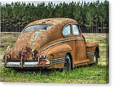 Rustic Relic Canvas Print by Rick Mann