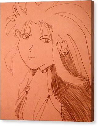 Ryoko Canvas Print by April Patterson