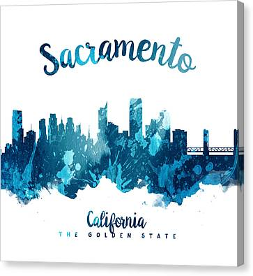 Sacramento California 27 Canvas Print by Aged Pixel