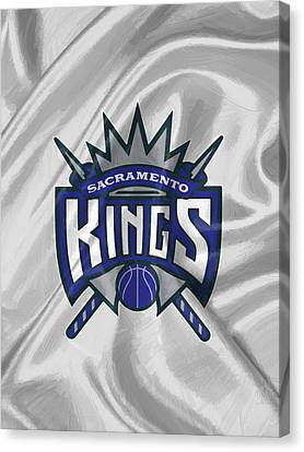 Sacramento Kings Canvas Print by Afterdarkness