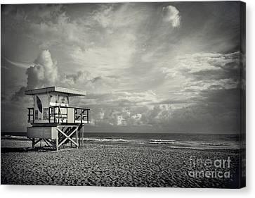 Safe Upon The Shore Canvas Print by Evelina Kremsdorf