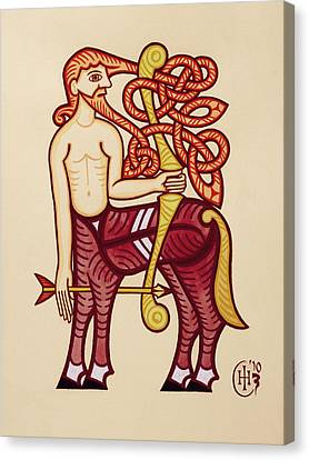 Sagittarius Canvas Print by Ian Herriott