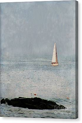 Sail Away Canvas Print by Colleen Kammerer