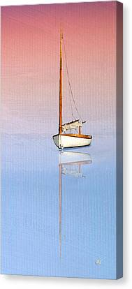 Sail To Serenity Canvas Print by Michael Petrizzo