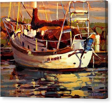 Sailboat Canvas Print by Brian Simons