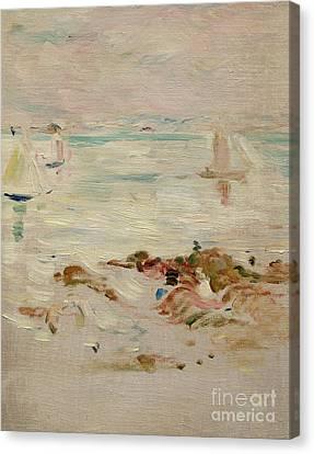 Sailboats Canvas Print by Berthe Morisot