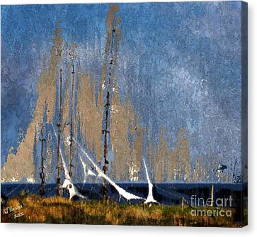 Sailing Canvas Print by Arne Hansen