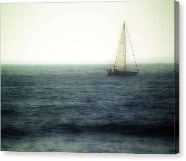 Sailing Canvas Print by Lyle  Huisken