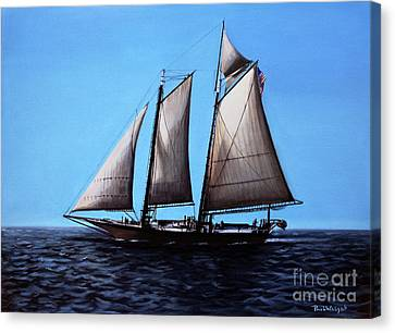 Sailing Canvas Print by Paul Walsh