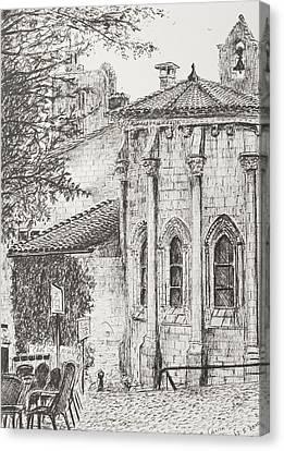 Saint-emilion Canvas Print by Vincent Alexander Booth
