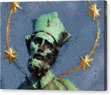 Saint Nepomuk Canvas Print by Shawn Wallwork