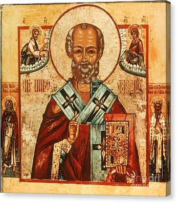 Saint Nicholas Canvas Print by Granger