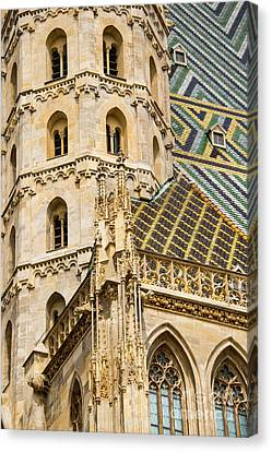 Saint Stephens Facade Two  Canvas Print by Bob Phillips