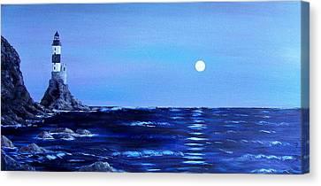 Sakhalin Lighthouse Canvas Print by Tony Rodriguez