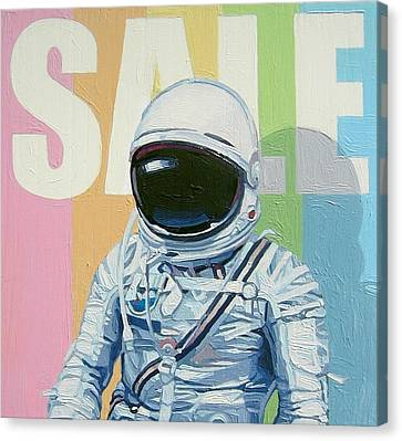 Sale Canvas Print by Scott Listfield