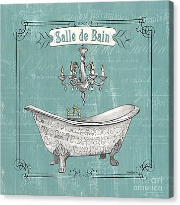 Salle De Bain Canvas Print by Debbie DeWitt