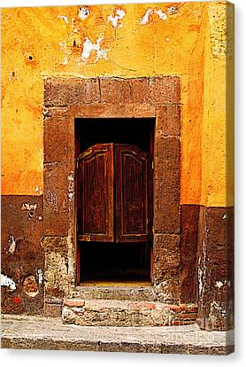 Saloon Door 5 Canvas Print by Mexicolors Art Photography
