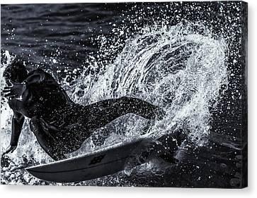 Salted Whip Canvas Print by Thomas Gartner