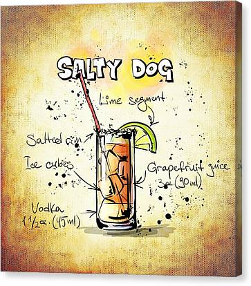 Salty Dog  Canvas Print by Movie Poster Prints