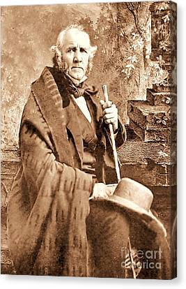 Sam Houston Canvas Print by Pg Reproductions