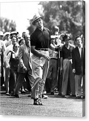 Sam Snead 1912-2002, American Golfer Canvas Print by Everett