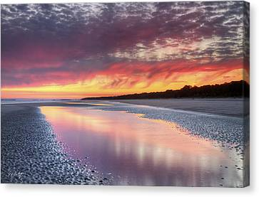 Same Night Six Fifteen Canvas Print by Phill Doherty