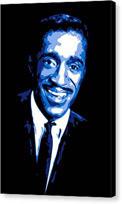 Sammy Davis Canvas Print by DB Artist