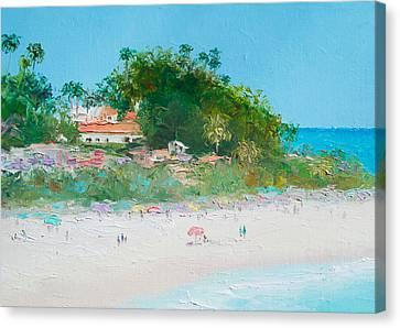 San Clemente Beach Art  Canvas Print by Jan Matson