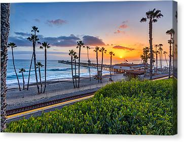 San Clemente Canvas Print by Peter Tellone