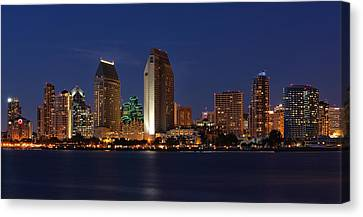 San Diego America's Finest City Canvas Print by Larry Marshall