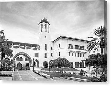 San Diego State University Campus Center Canvas Print by University Icons