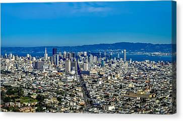 San Francisco California Canvas Print by Leandro Centomo