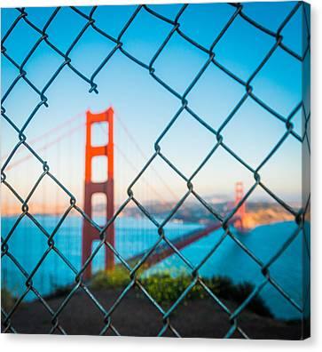 San Francisco Golden Gate Bridge Canvas Print by Cory Dewald