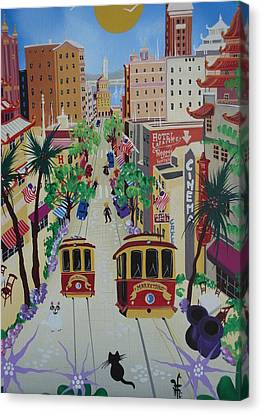 San Francisco Canvas Print by Herbert Hofer