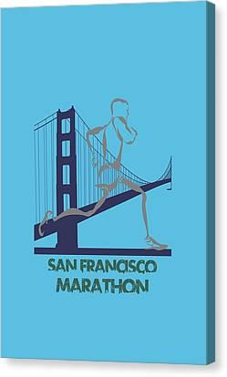 San Francisco Marathon2 Canvas Print by Joe Hamilton