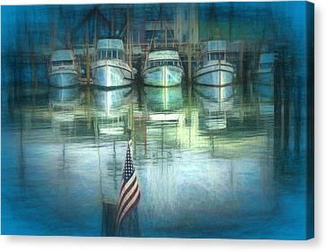 San Francisco Pier Canvas Print by Michael Cleere